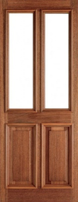 External Hardwood Derby Unglazed Door
