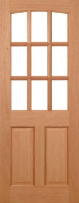 External Hardwood Georgia Door