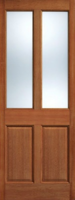 External Hardwood Malton Frosted Glazed Door