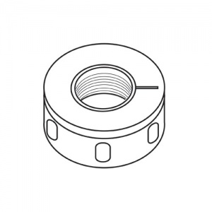 Trend Bearing collet nut for ER40
