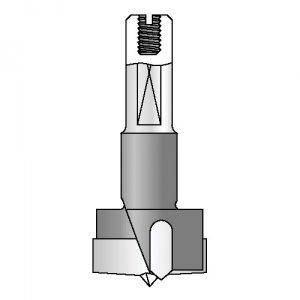 Trend 203 BK machine bit 25 mm diameter