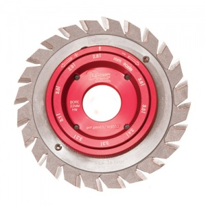 Trend DLeader Adjustable Scorer sawblade 125 x 22 mm x 24T
