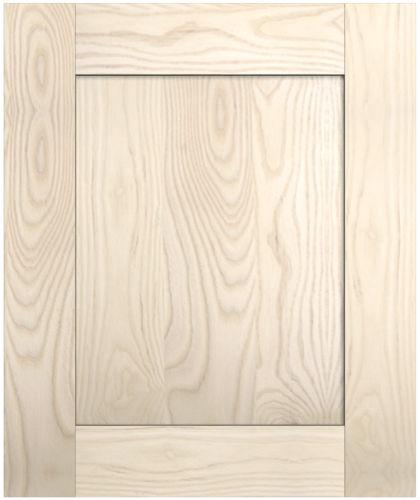 Solid Timber Shaker Style Doors, Unfinished Oak Kitchen Cabinets Uk