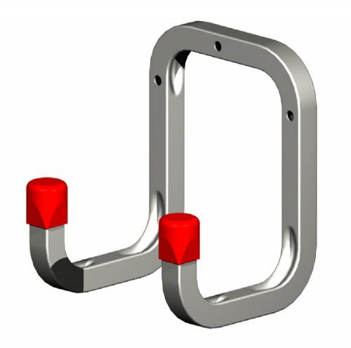 Double Wall Hook 90mm Galvanised Steel
