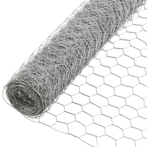 Galvanised Wire Netting 10m Roll 50mm x 50mm - Atlantic Timber