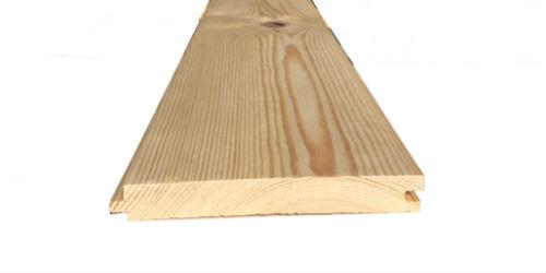 25mm x 150mm t g floorboard pine atlantic timber