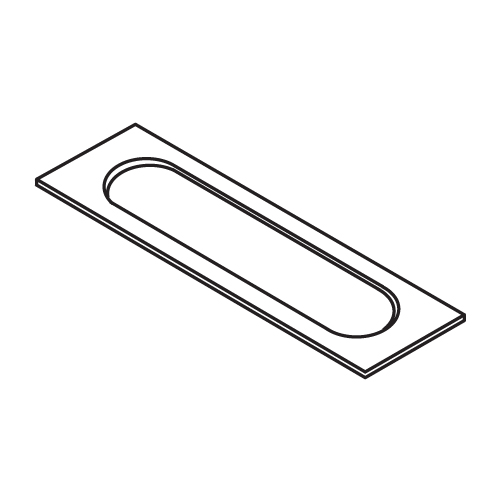 Trend Lock Jig A Template 26mm X153mm Rounded Ends