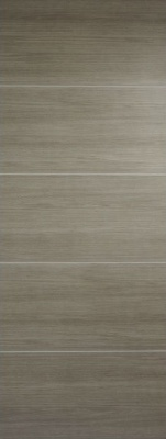 Internal Pre-Finished Light Grey Laminate Santandor Door