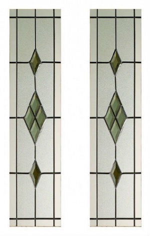 Smoked ABE-Lead Glass Pack for Malton Door