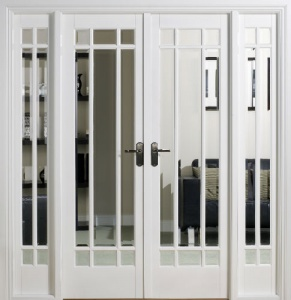 Internal White Manhattan W6 Room Divider