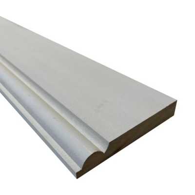 MDF Chamfered Architrave - White Primed 2.2m x 69mm x 18mm