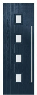 External Composite Milton Blue Door Set