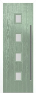 External Composite Milton Green Door Set