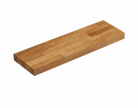 Pre-Oiled Solid Oak Floating Shelf Kit