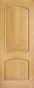 Internal Pre-finished Louis Oak Door with Raised Mouldings