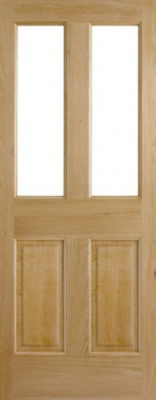 External Oak Malton 2P/2L Door