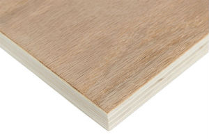 Crown Cut Oak Veneer Plywood 9mm Handy Panels