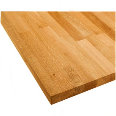 Solid Natural Oak Worktop 40mm Thick