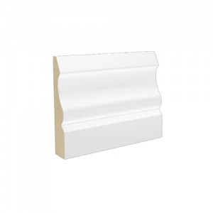 Pre-Finished White Ogee Architrave 15mm x 69mm x 2.4m Lengths