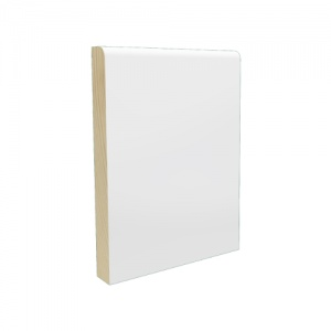 Pre-Finished White Pencil Round Skirting 15mm x 119mm x 4.2m Lengths