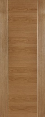 Internal Pre-Finished Oak Mirage Door