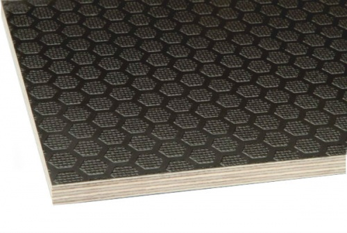 Anti-Slip Mesh/Smooth Phenolic Film Faced Plywood