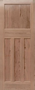 Internal Pitch Pine DX30's Style Door