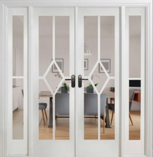 Internal White Reims Room Divider