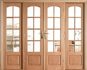 Internal Oak Worthing W8 Room Divider