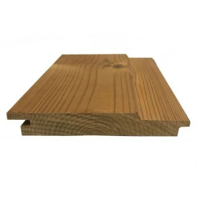 Thermowood Cladding Channel Profile 20mm x 141mm x 2.1m