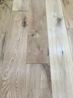 120mm x 18mm Solid Oak Flooring - Lacquered