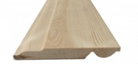Sanitary/Torus Reversible Pine Skirting 125mm x 19mm