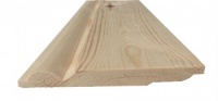 Torus/Sanitary Reversible Pine Skirting 125mm x 19mm