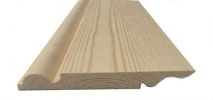 Torus/Ogee Reversible Pine Skirting 175mm x 25mm (Nominal)