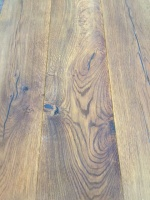 190m x 14mm Engineered Smoked Oak Flooring - Click Lock