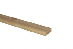 Ogee Architrave Pine 44mm x 15mm x 4.2m