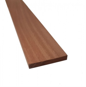 25mm x 150mm (6'' x 1'') x 3m Joinery Sapele - Planed All Round