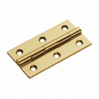 3'' Butt Hinge Electroplated Brass (10 Pack)