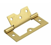 3'' Flush Hinge Electroplated Brass (Pack of 20)