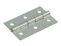 3'' Steel Butt Hinge Zinc Plated Pack of 20