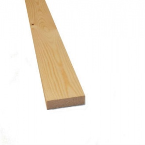 Pine Planed All Round 75mm x 25mm (3'' x 1'')