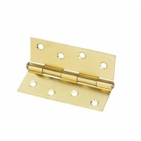4'' Butt Hinge Electroplated Brass (10 Pack)