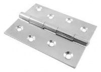 4'' Steel Butt Hinge Zinc Plated (Pack of 10)