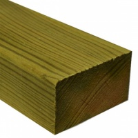 100mm x 75mm (4'' x 3'') Treated Softwood Over 3m (Finished Size 94mm x 71mm)
