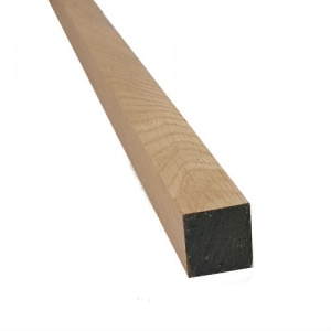 50mm x 50mm (2'' x 2'') x 3m Joinery Oak - Planed All Round