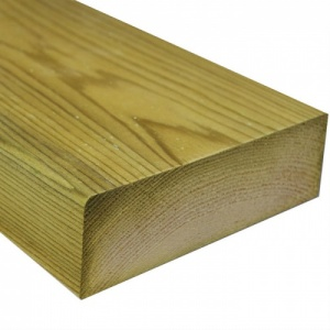 225mm x 47mm (9'' x 2'') Treated Softwood 3.6m (Finished Size 219mm x 44mm)