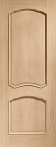 Internal Pre-Finished Oak Louis Door