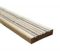 125mm x 32mm Anti-Slip Treated Softwood Deck Board - 2.4m