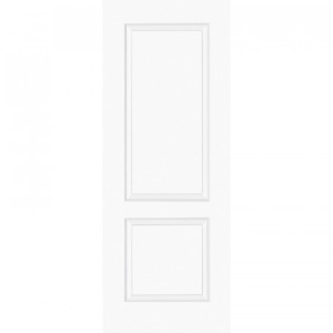 Internal Composite White Bruge Door