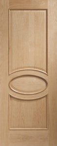 Internal Calabria With Raised Mouldings Oak Door